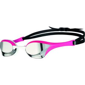 arena Cobra Ultra Swipe Mirror Maschera, argento/rosa